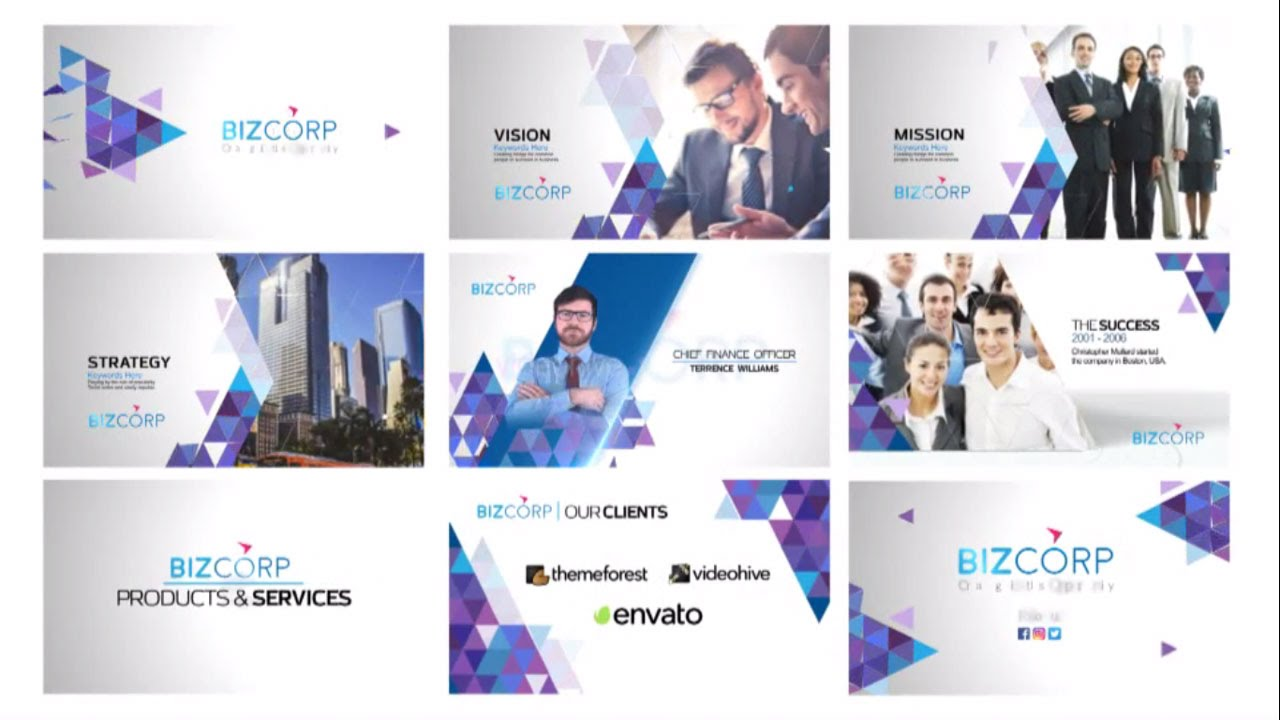 company profile after effects templates free download - business presentation video after effects template youtube