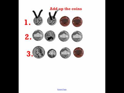 Counting Coins Hairy Money