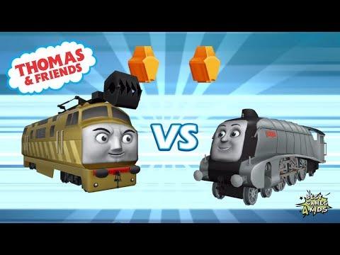 Thomas & Friends: Go Go Thomas 2.0 | DIESEL 10 Vs SPENCER! By Budge