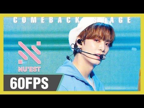 60FPS 1080P | NU'EST (뉴이스트) - LOVE ME  Show! Music Core 20191026