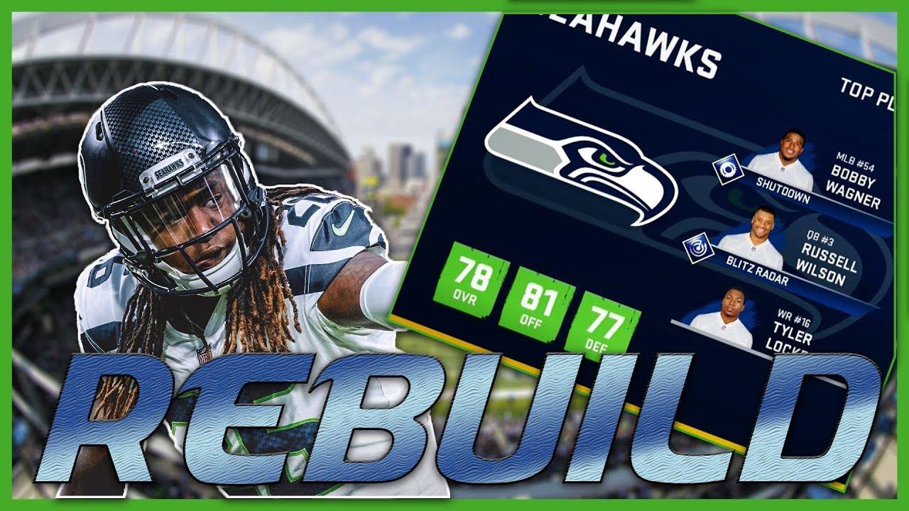 Russell Wilson Doesn't Slow Down | Madden 20 Seattle Seahawks Rebuild