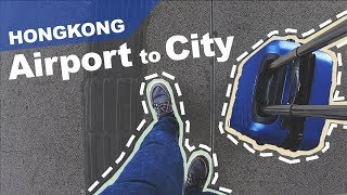 Hong Kong Airport Express Train, Bus & Taxi - Airport to City Guide