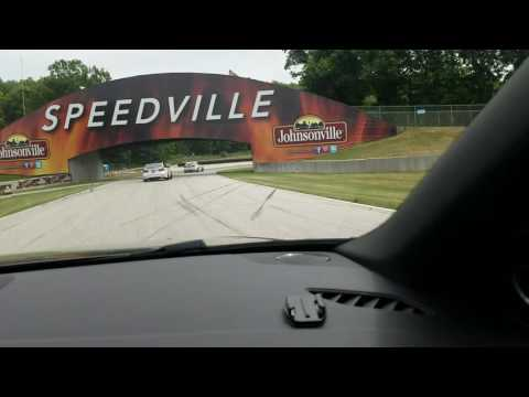 Dion Von Moltke shows me how to drive around Road America in an RS5!