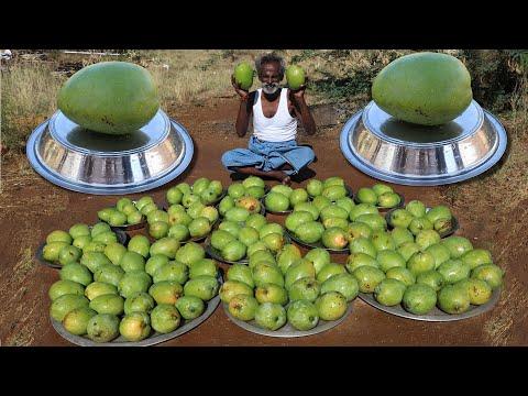 MANGO PICKLE !!! King of Mango Pickle prepared by my Daddy Arumugam / Village food factory