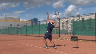 Теннис. Дневник тренировок. 22.