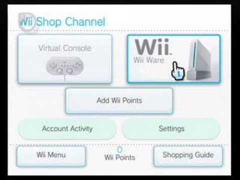 Wii Shopping Channel demo