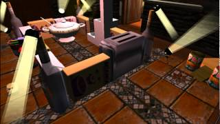 Toy Commander   Episode 1  Kitchen and Dining Room