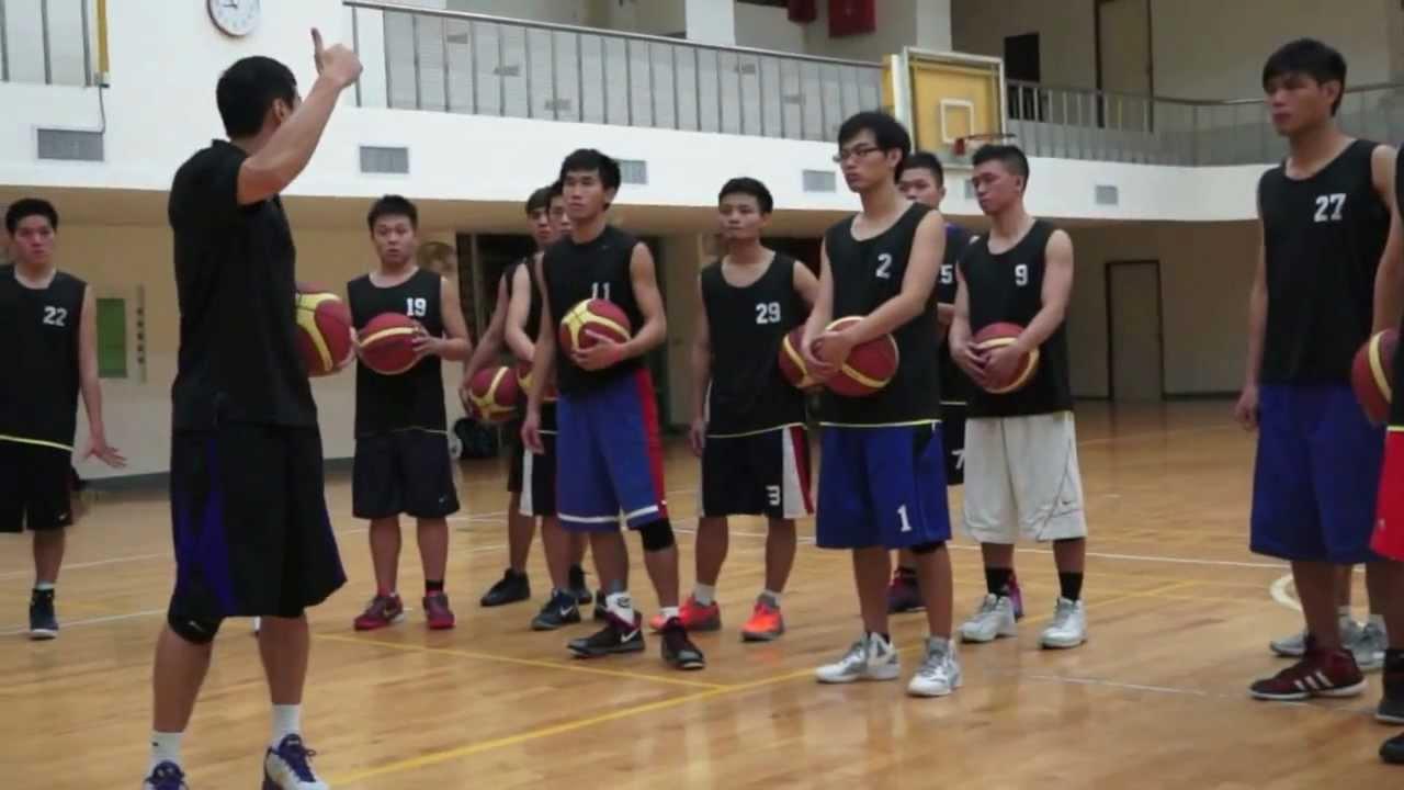 [DV大專籃球學院] 上籃基本訓練,『搖擺單手上籃』 - YouTube