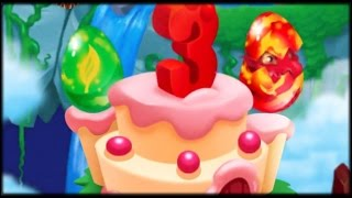 Dragon City: 3rd Anniversary Celebration Island + All Dragons!