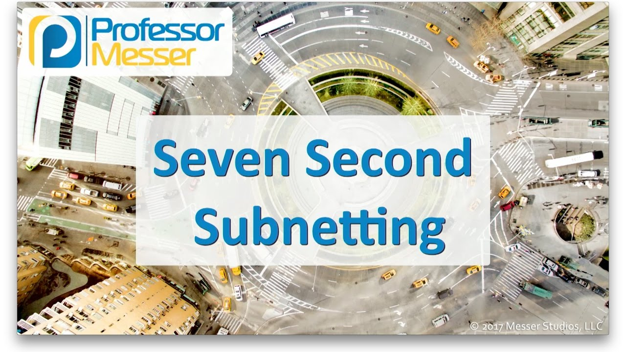 Seven Second Subnetting