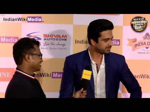 Avinash Sachdev on the red carpet of IndianWikiMedia celebrity bash