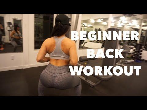 Beginner Back Workout