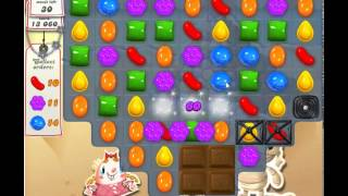 Candy Crush Saga Level 156 - 3 Star - no boosters