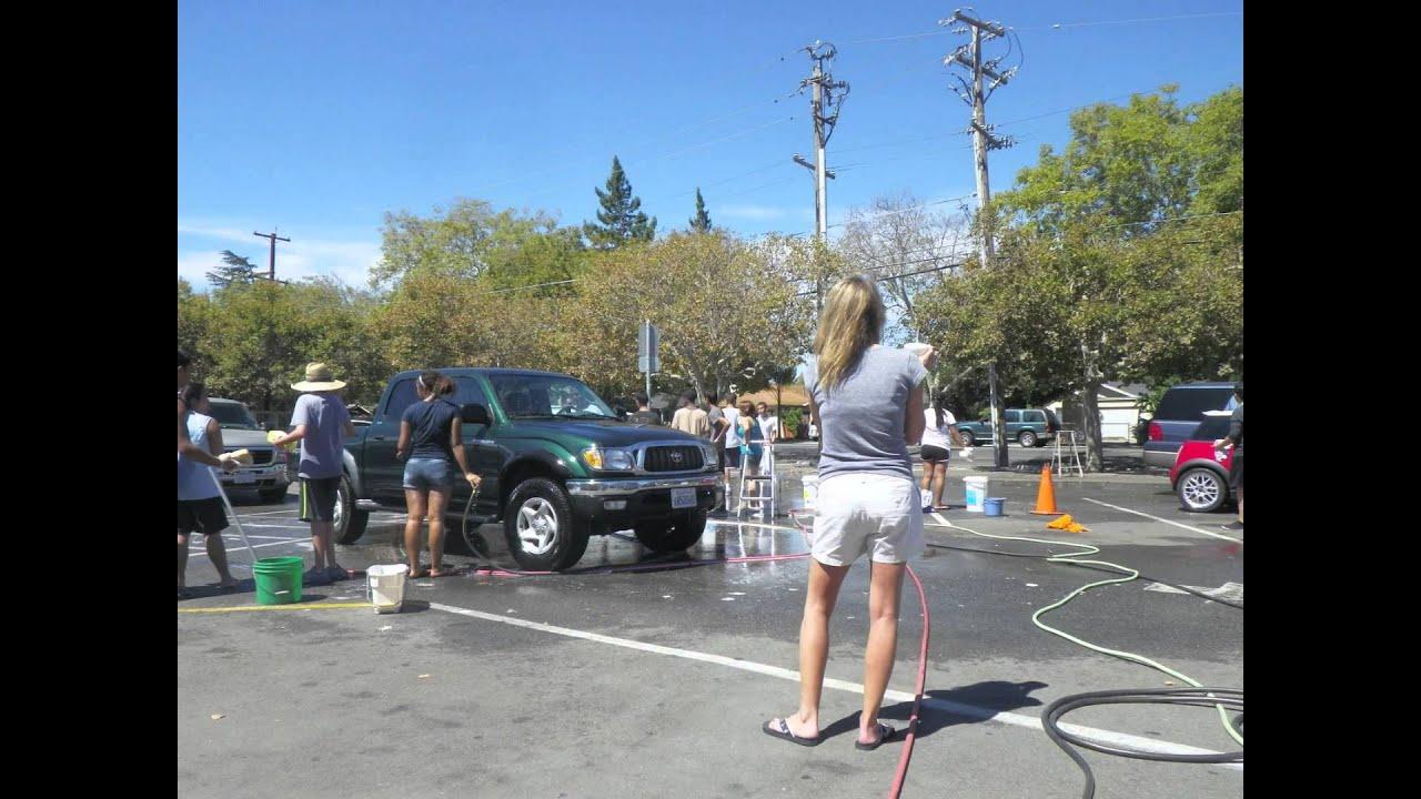 Lincoln High School San Jose Aquatics Water Polo And Swim Team Car Wash 8 24 2013 Youtube