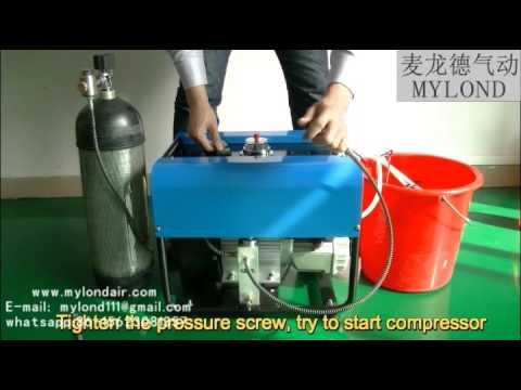 best pcp electrical 300bar air compressor hpa 4500psi air compressor for  airguns air rifle air tank
