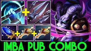 ACE [Riki] Imba Pub Combo with 38 Kills 7.13 Dota 2
