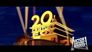 20th Century Fox logo 1953 remake (November Updated)