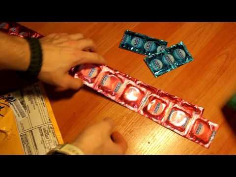Распаковка посылки из Китая с Aliexpress (unboxing №189) Презервативы из Китая