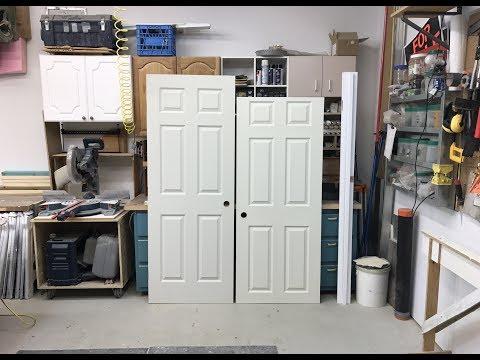 How To Cut Down A Door's Height
