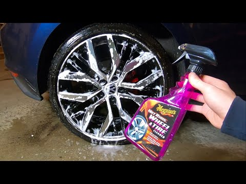 Meguiars Wheel & Tire Cleaner Review