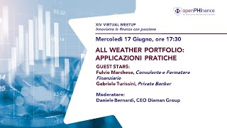 XIV Virtual Meetup   All Weather parte II