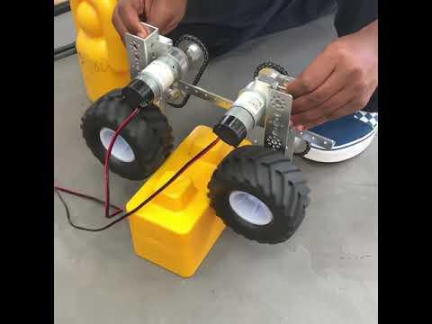 FTC Skystone Wheeled Intake Prototype