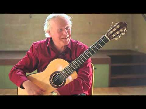 "Trailer for new classical guitar DVD, ""Evolución"" featuring John Mills."