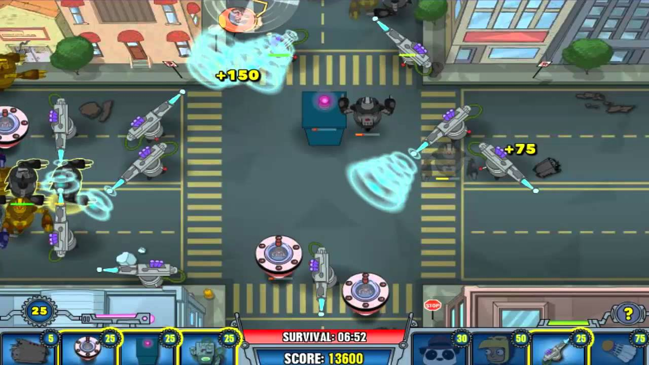 Phineas and Ferb: Robot Riot - WildTangent Games