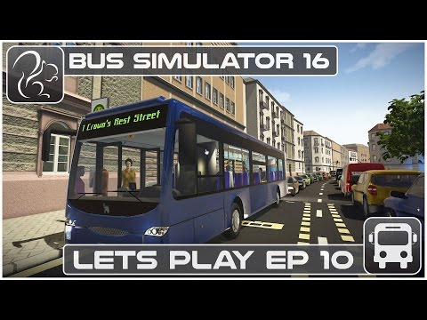 Bus Simulator 16 - Lets Play - Episode #10