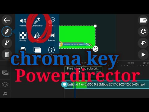 powerdirector chroma key free download