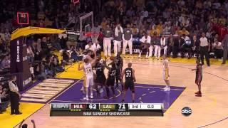 LA Lakers Vs Miami Heat March 4th 2012 (Lakers Highlights)