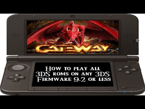 2015] How To Play All 3Ds Roms On Any 3Ds 9 2 Or Less - YT