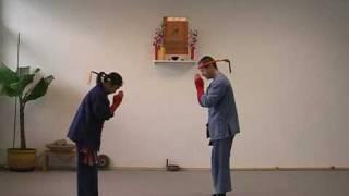 Respekt & Tradition asiatische Kampfkunst im 'Süa Lag Hang'-Stil der thailändischen Wandermönche