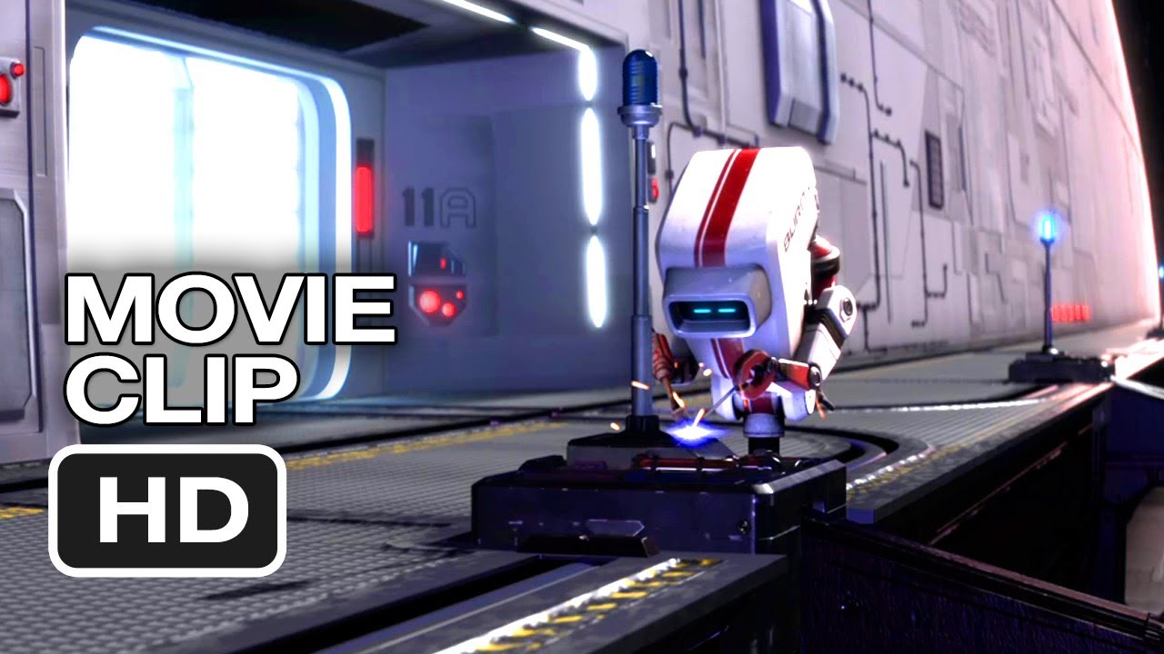 Pixar Shorts Vol 2 Blu Ray Movie Clip Burn E Gets Distracted 2012 Film Collection Hd Youtube