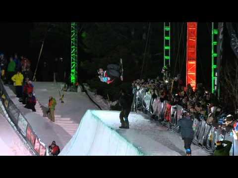 Danny Davis, Steve Fisher - Superpipe - 2010 Winter Dew Tour Snowbasin