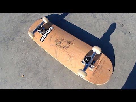$40 AMAZON BOARD AT THE SKATEPARK