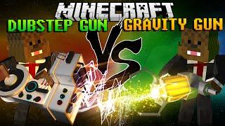 Minecraft Dubstep Gun Mod vs Gravity Gun Mod (Mod Battles)
