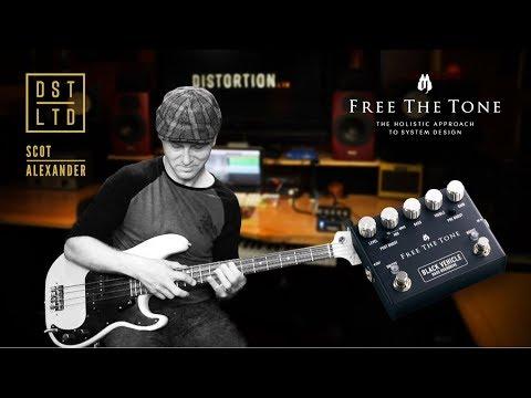 Free The Tone Black Vehicle Bass Overdrive BASS DEMO