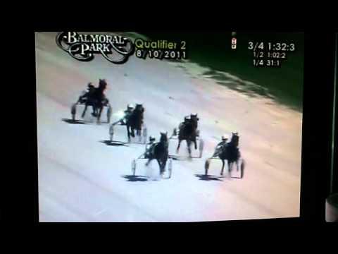 Balmoral Park Qualifier Accident 8-10-2011