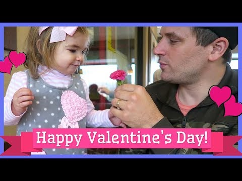 Our VERY FIRST Daddy Daughter Date on Valentine's Day!