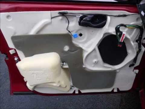 2005 Ford Focus Door Panel Removal Youtube