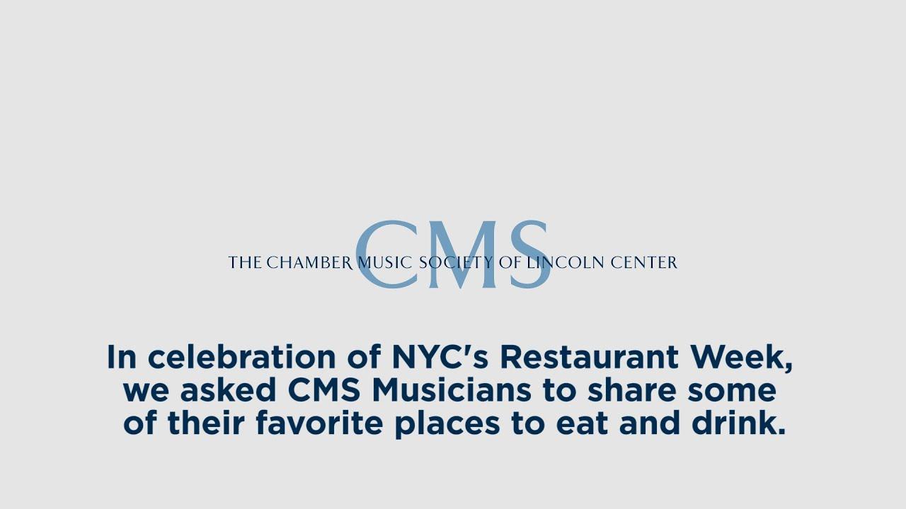 CMS August Artist Profile - Favorite Food Spots