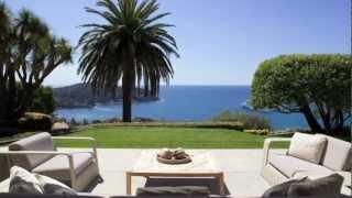 Demeure de prestige à vendre Villefranche Sur Mer (06230) - vue mer - 9 pièces de 640m2