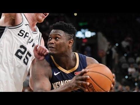 Lonzo Lobs Zion Williamson, Ingram! 2019 NBA Preseason