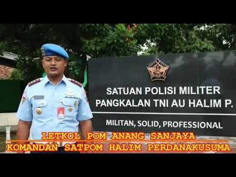 Satuan Polisi Militer Lanud Halim Perdanakusuma