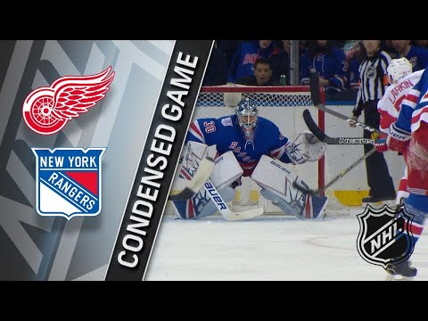 02/25/18 Condensed Game: Red Wings @ Rangers