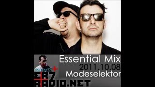 Modeselektor - BBC Essential Mix 2011