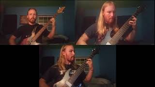 Watain - Four thrones guitar and bass cover by Brandon Rugh