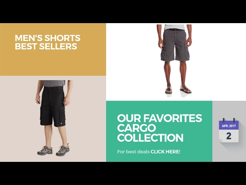 Our Favorites Cargo Collection Men's Shorts Best Sellers