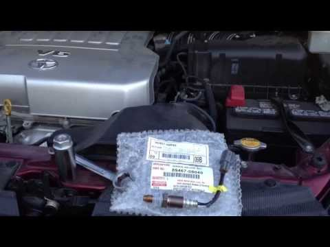 toyota sienna p0031 air fuel sensor replace youtube. Black Bedroom Furniture Sets. Home Design Ideas
